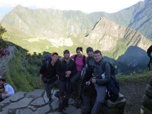 The Sun Gate - Sunrise View of Machu Picchu